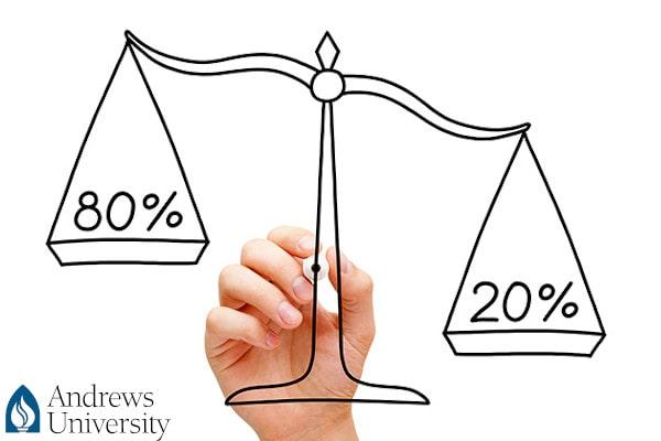 Quy tắc 80/20 - Chìa khóa vàng trong quản trị năng suất