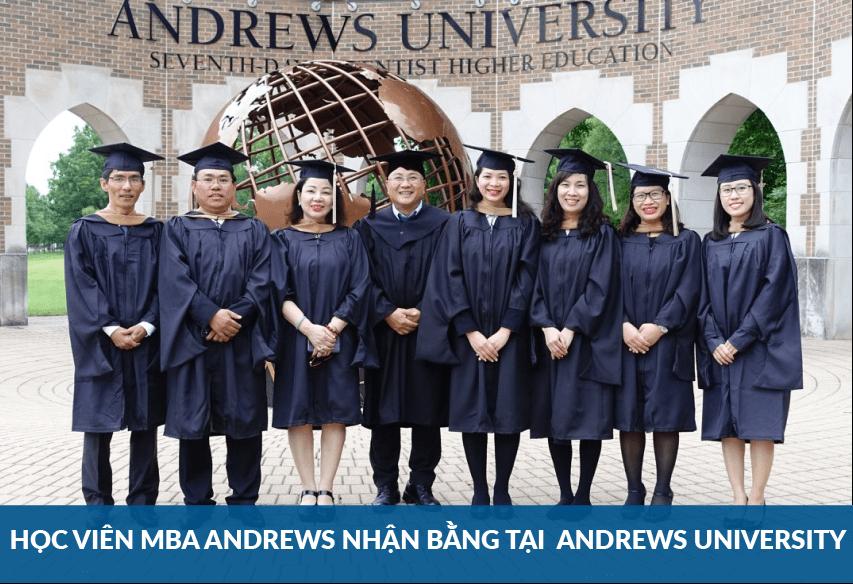 Tiến sỹ Nguyễn Việt Anh đưa đoàn học viên MBA Andrews đi nhận bằng tại Mỹ