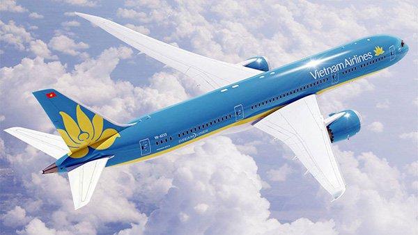 Máy bay Boing 787 Vietnam Airlines đến Mỹ